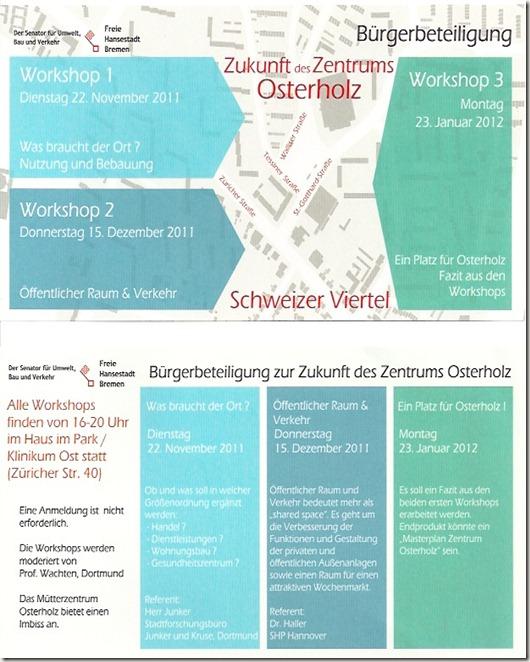 Workshops 1-3
